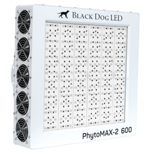 Load image into Gallery viewer, Trendygrower.com - Black Dog LED PhytoMAX-2 600 LED Grow Lights