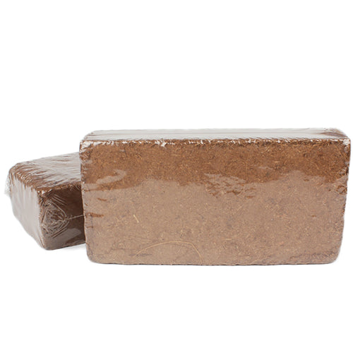 Natural Compressed Coconut Fiber Brick Bedding Grow Mediam