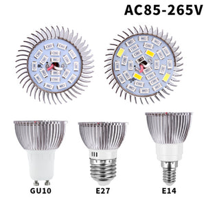 Full Spectrum LED Indoor Grow Bulbs
