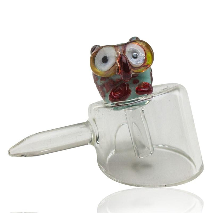 Empire Glassworks Baby Owl Carb Cap - Join Club Lifted