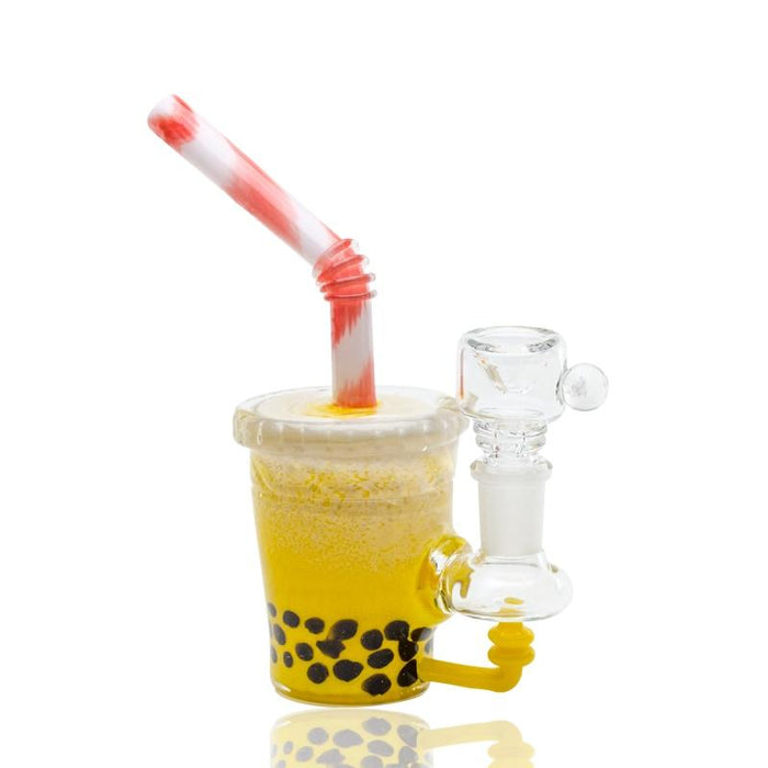 Empire Glassworks Boba Mini Rig Water Pipe - Join Club Lifted