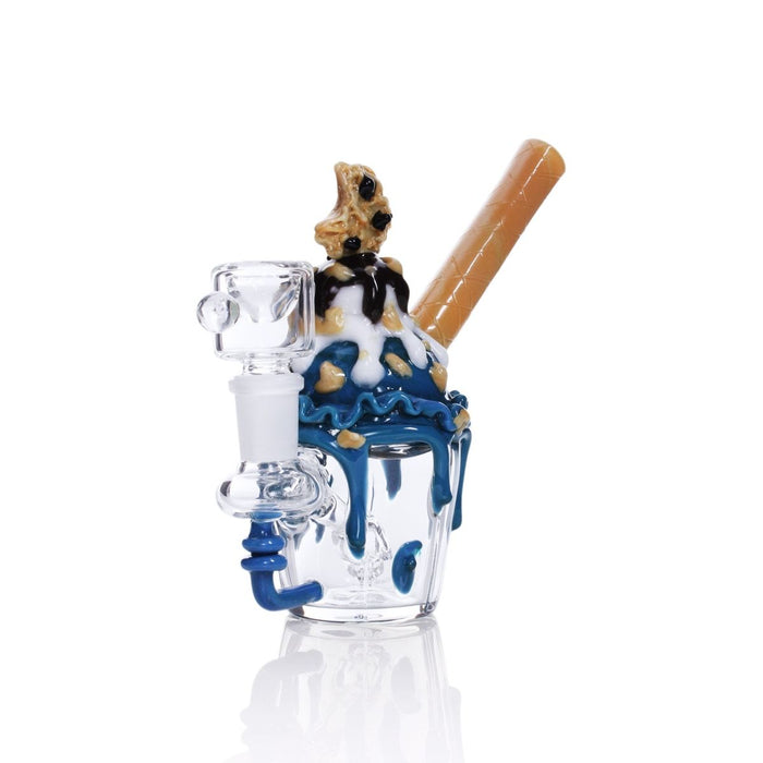 Empire Glassworks Cookie Monster Sundae Mini Rig - Join Club Lifted