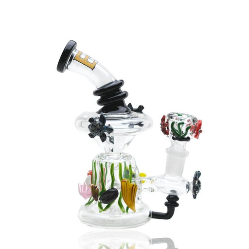 Empire Glassworks E.A.C. Mini Recycler Water Pipe - Join Club Lifted