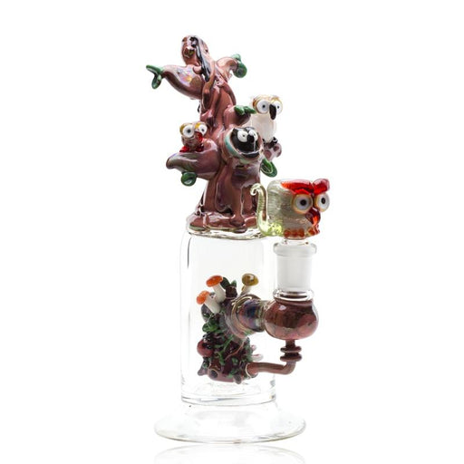 Empire Glassworks Hootie and Friends Mini Rig Water Pipe - Join Club Lifted
