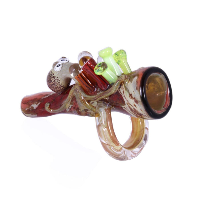 Empire Glassworks Ollie the Octopus Chillum - Join Club Lifted