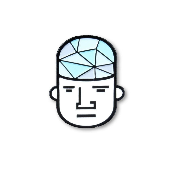 "Glassheads ""Glass Guy"" Hat Pin - Join Club Lifted"