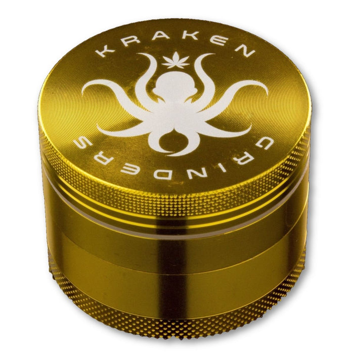 "Kraken Grinders 2.2"" Solid Color 4 part Grinder - Join Club Lifted"