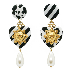 Funky 101 Pearl Earrings