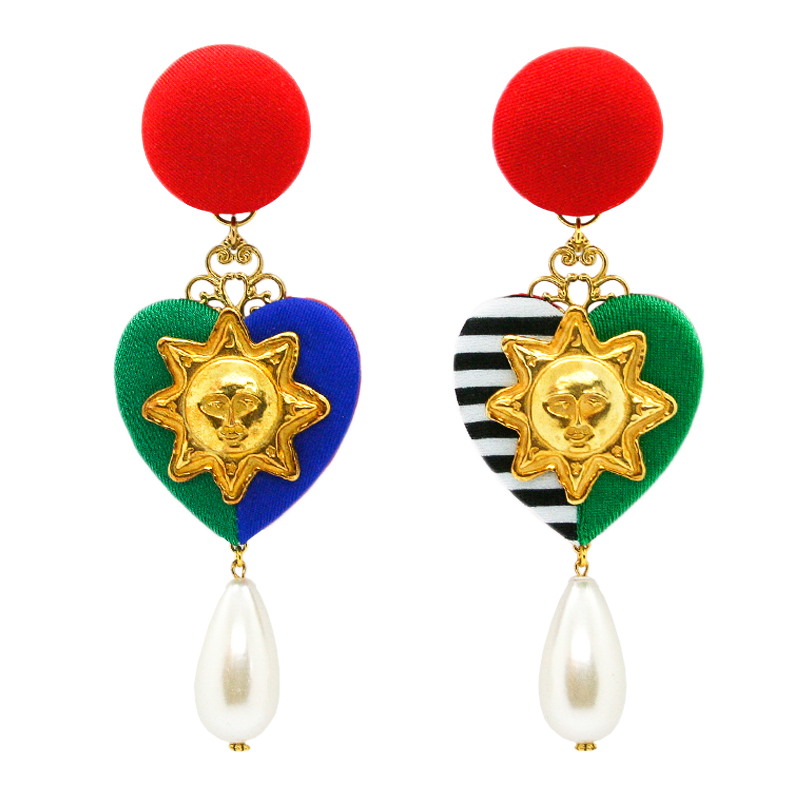In Living Color Pearl Earrings