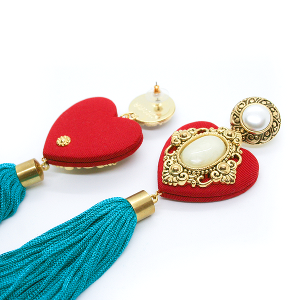 Pomme d'amour TASSEL EARRINGS