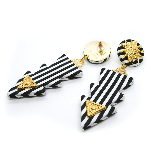 LIGHTNING STRIPES EARRINGS