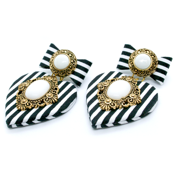 STRIPED LADY EARRINGS