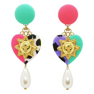 The Pastel Joint Pearl Earrings