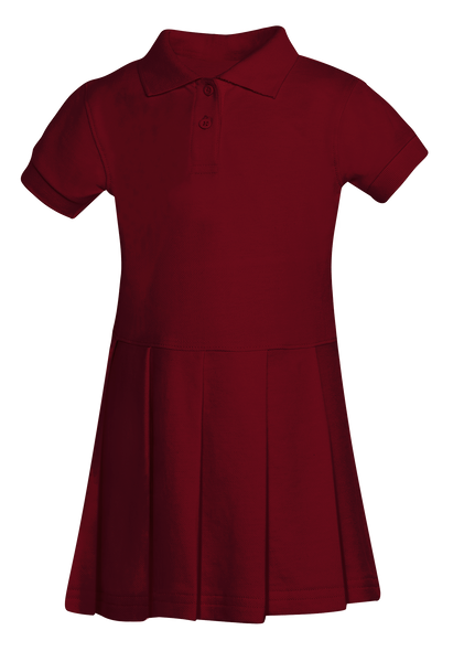 Girls Pique Polo Dress