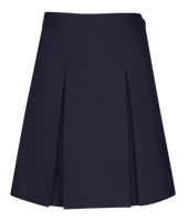 Longer Length Girls Kick Pleat Skirt