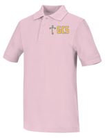 Discounted NEW LOGO Youth Unisex Short Sleeve Pique Polo