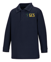 New Fit Youth Long Sleeve Interlock Polo