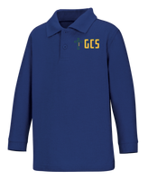 Discounted NEW LOGO Youth Long Sleeve Pique Polo