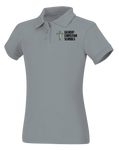 Discounted NEW LOGO Girls Short Sleeve Fitted Interlock Polo