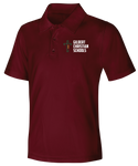Discounted NEW LOGO Youth Unisex Moisture Wicking Polo