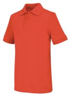 OLD Fit Youth Short Sleeve Interlock Polo