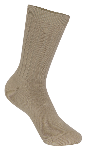Unisex Ribbed Crew Socks