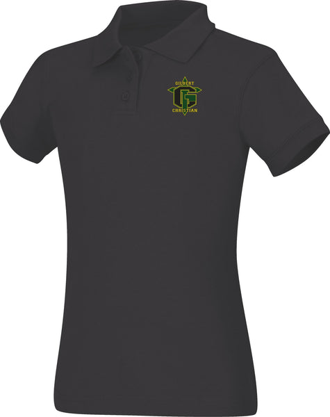 Discounted OLD LOGO Juniors Short Sleeve Fitted Interlock Polo