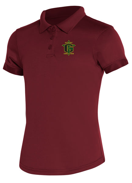 Discounted Girls Moisture Wicking Polo