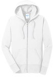 Ladies Core Fleece Full-Zip Hooded Sweatshirt