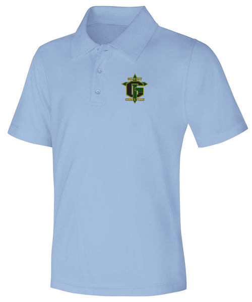 Discounted Adult Unisex Moisture Wicking Polo