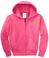 Adult Unisex Core Fleece Full-Zip Hooded Sweatshirt