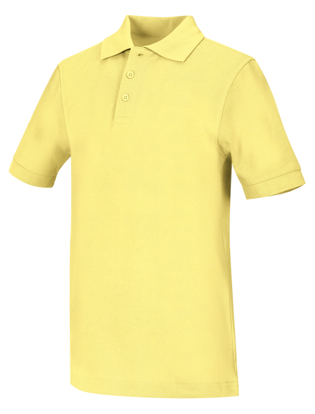 New Fit Toddler Unisex Short Sleeve Pique Polo