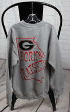 Load image into Gallery viewer, UGA Born & Raised Sweatshirt