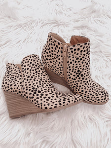 Leopard Lady's Booties