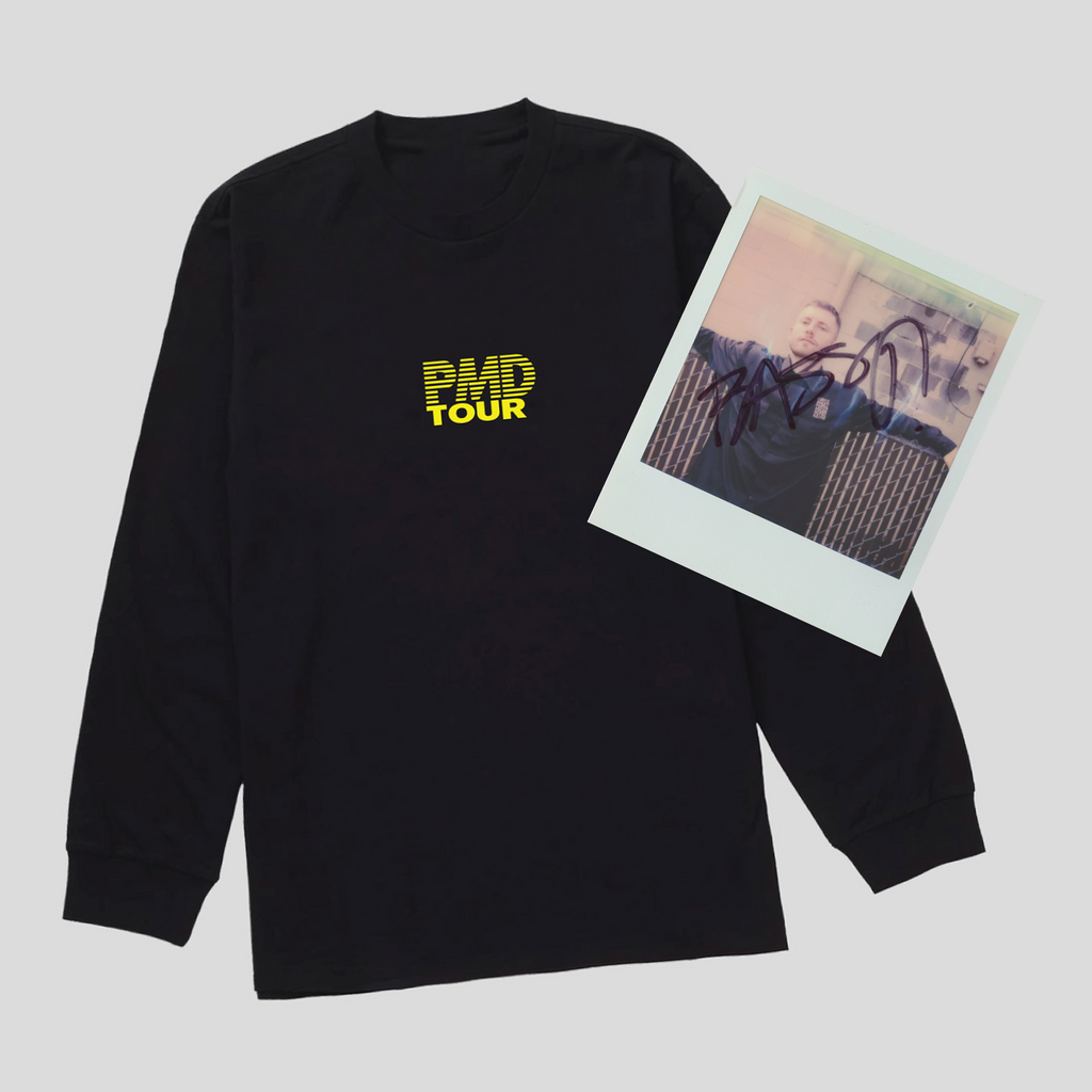PMD Tour LS Tee & Signed Polaroid Photo