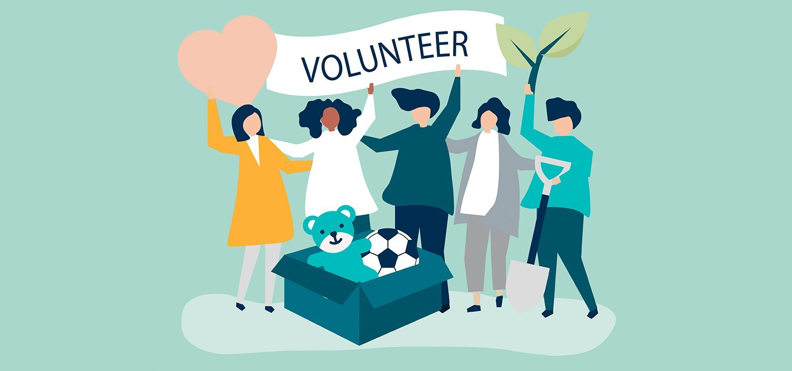 THE ART OF VOLUNTEERING