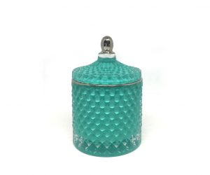 Royal Large Geo - Teal with silver top