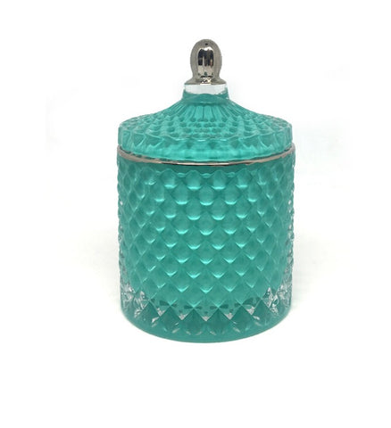 Royal Medium Geo - Teal with silver top