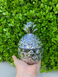 Large Pineapple - Silver
