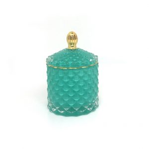 Royal Baby Geo Candle - Teal