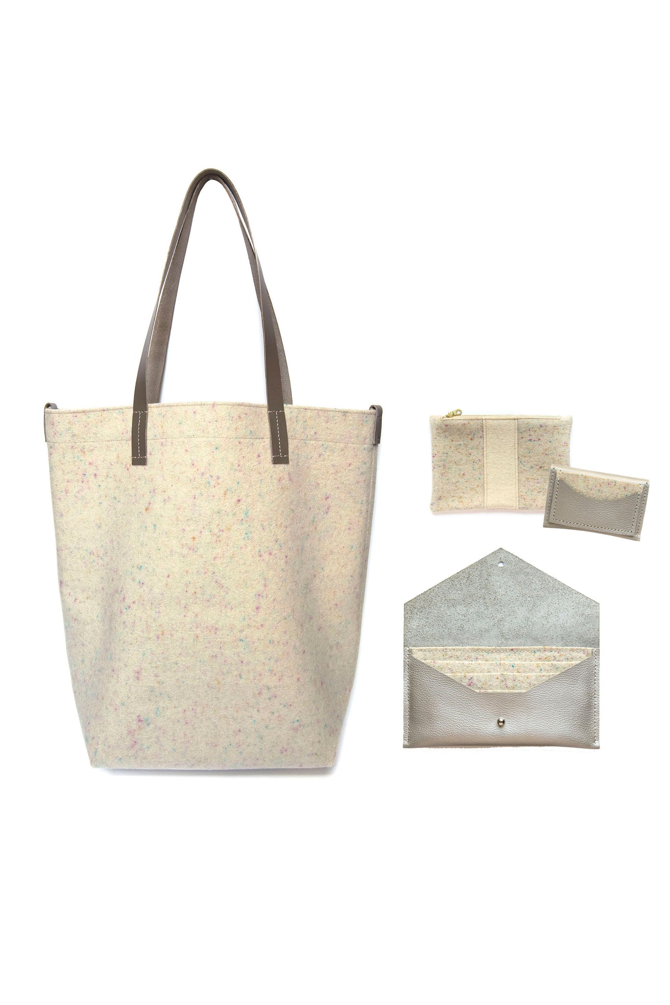 Style Inspiration: The Wool Shopper in Confetti