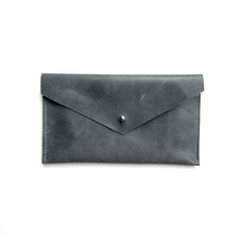 Load image into Gallery viewer, SAMPLE SALE - Envelope Clutch in Slate Blue