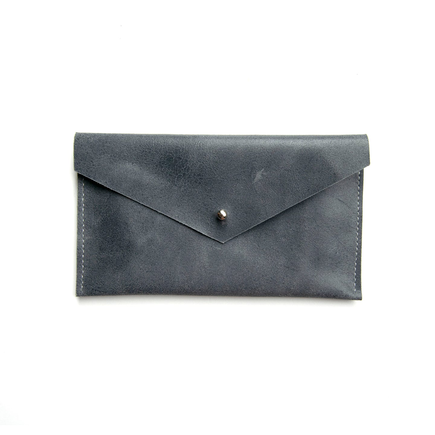 SAMPLE SALE - Envelope Clutch in Slate Blue