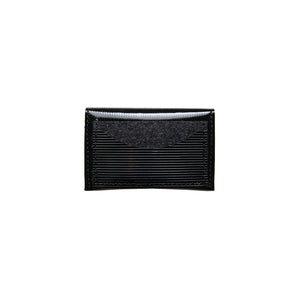 Half Moon Card Holder in Black
