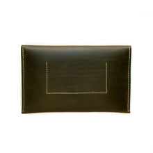 Load image into Gallery viewer, Half Moon Clutch in Olive