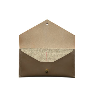 Clutch Wallet in Taupe