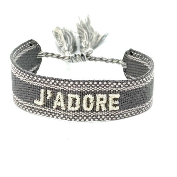 Friendship bracelet J'ADORE
