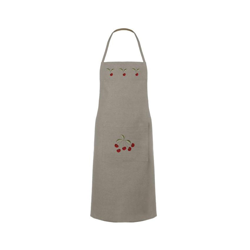 Aprons with embroideries