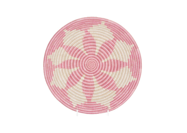 Raffia Bowl Pale Blush Hope Large
