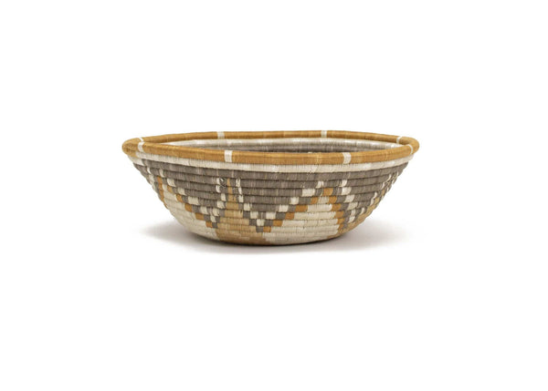 Raffia Bowl Soft Gold Intore XL
